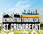 Demonstrationsrecht ist Grundrecht